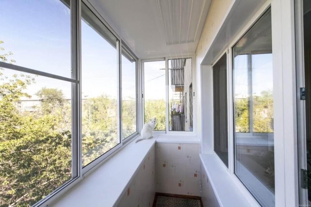 Выбор конструкции для остекления балконов и лоджий